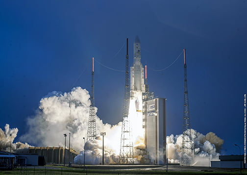 Décollage Ariane 5 VA 247 @ Arianespace