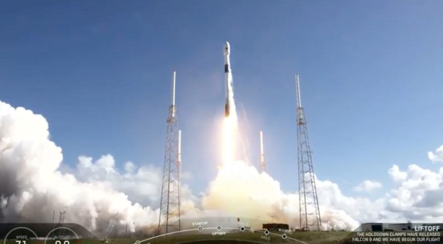 ANASIS-2 mis sur orbite avec succès par SpaceX avec Falcon 9