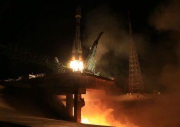 Décollage de Soyuz pour le vol ST35 © Roscosmos
